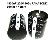 10 pack 1800uf 200v 105c Panasonic HB 35x46 Electrolytic Capacitors Japan NEW