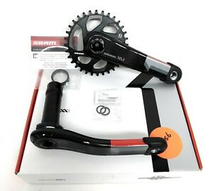 SRAM-XX1-11-Speed-MTB-BB30-Carbon-Crankset-Direct-Mount-32t-175mm-Q168-Black-New