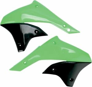 UFO-Kuehlerverkleidung-Kawasaki-KLX450R-Kx-Green-KA03789-026