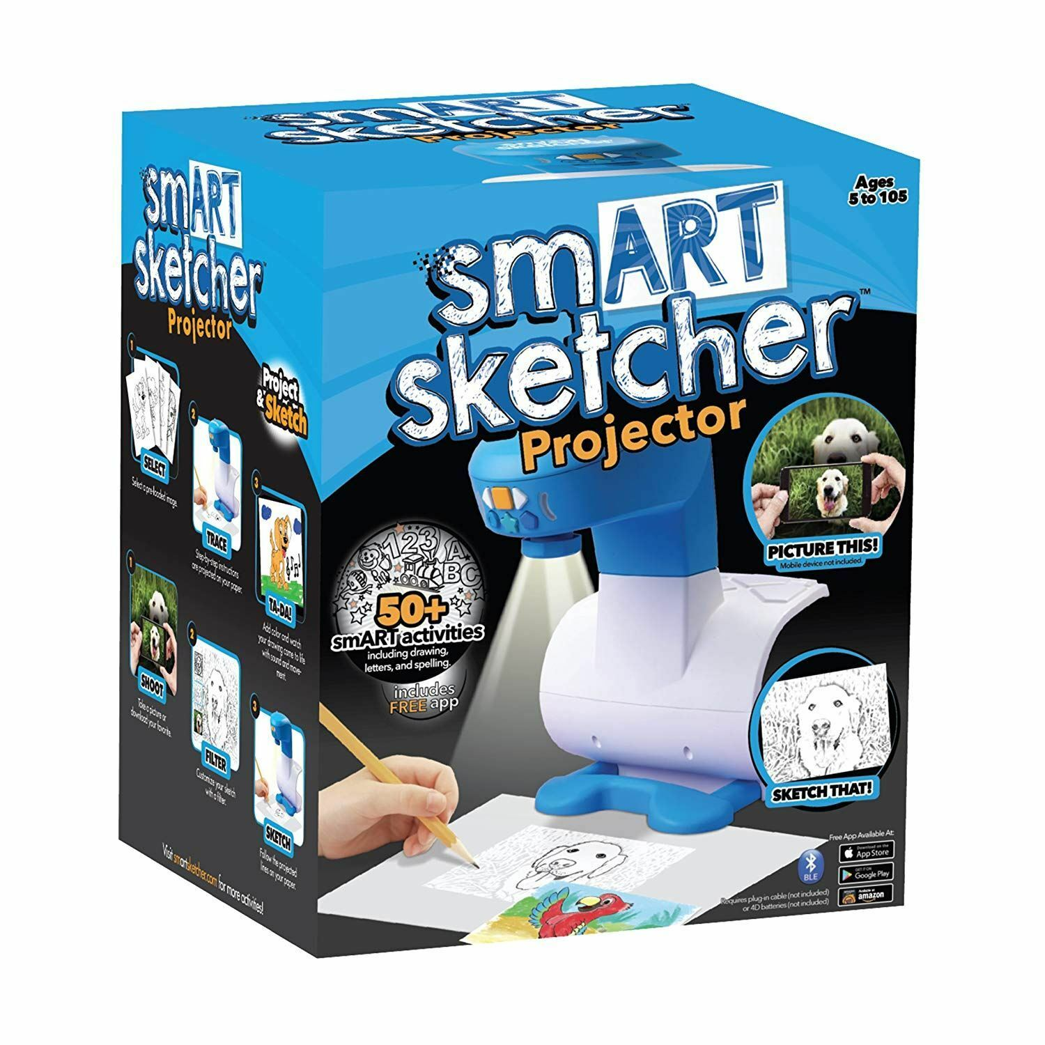 SmART Sketcher Projector Learn To Draw Interactive STEAM Learning