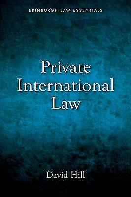 Private International Law Essentials by David Hill (Paperback, 2014)
