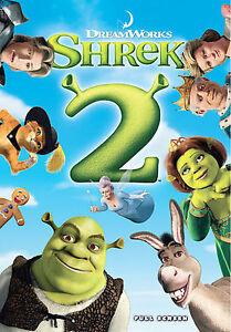 Shrek 2 Dvd Full Screen 678149087321 Ebay