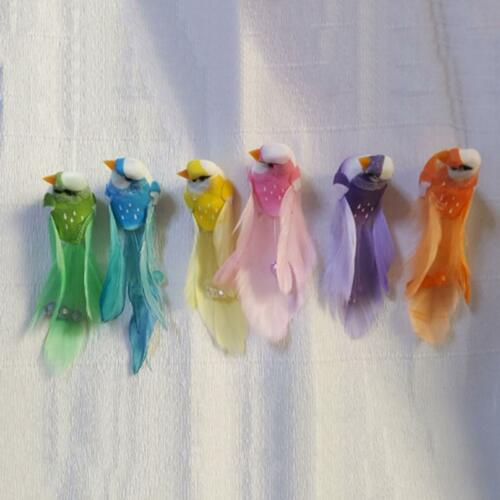 Clip On Tropical Parrots Birds Hawaiian Party Theme Carnival Fiesta Decor GR