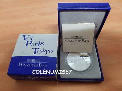 1,50 Euro Francia France Frankreich 2003 - Vuelo Paris-tokyo - Plata Silber Ganancia PequeñA