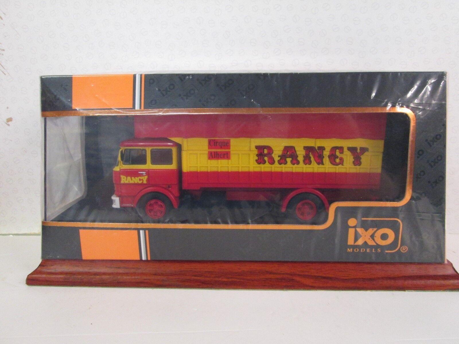 IXO. FIAT 619. il Cirque rancy (F) 1 43. Rosso Giallo. 1979. TRU 023.