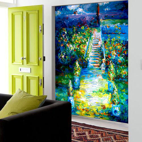 3D Pretty Oil Painting Wall Paper wall Print Decal Wall Deco Wall Indoor Murals