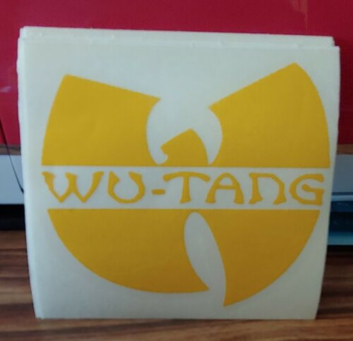WU TANG T-SHIRT FREE WU TANG CAR DECAL w//Purchase Wu-Tang DRIP or Wu-World