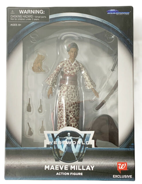 DIAMOND SELECT WESTWORLD WALGREEN EXCLUSIVE MAEVE MILLAY WITH SWORD
