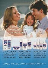 X0279 Linea INFASIL clinicamente testata - Pubblicità 1992 - Vintage Advertising