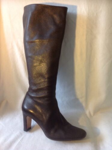 Brown Boots Hobbs Knee Leather High 40 Size f88q4Udx