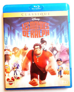 Les-mondes-Ralph-DISNEY-Blu-ray-tres-bon-etat