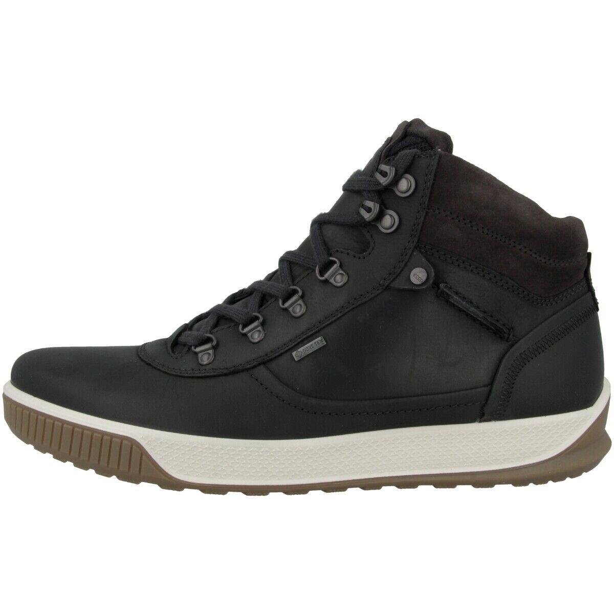 Ecco Byway Trot Schuhe Herren Mid Cut Turnschuhe Schnürer Stiefel schwarz 501834-55869