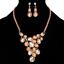 Fashion-Elegant-Women-Rhinestone-Crystal-Choker-Bib-Statement-Pendant-Necklace thumbnail 8