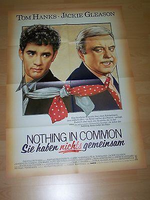 Nothing In Common - Plakat A1 ´86 - Tom Hanks Jackie Gleason