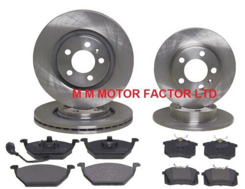VW Polo 6R 2009- 1.2 1.4 1.6 TDI Front /& Rear Brake Discs /& Pads Set *NEW*