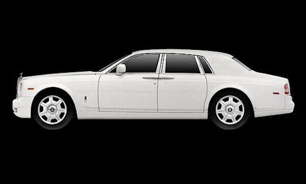TrueScale Miniatures 2009 Rolls-Royce Phantom LWB White 1 43New ReleaseNice