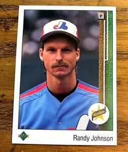 1989 Upper Deck #25 Randy Johnson RC - Expos NM