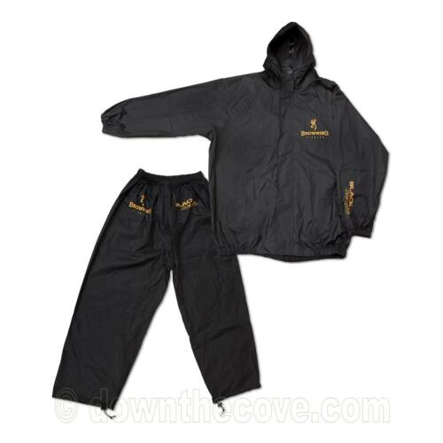 Large Browning Black Magic Rain Suit  for Fishing Waterproof /& Windproof