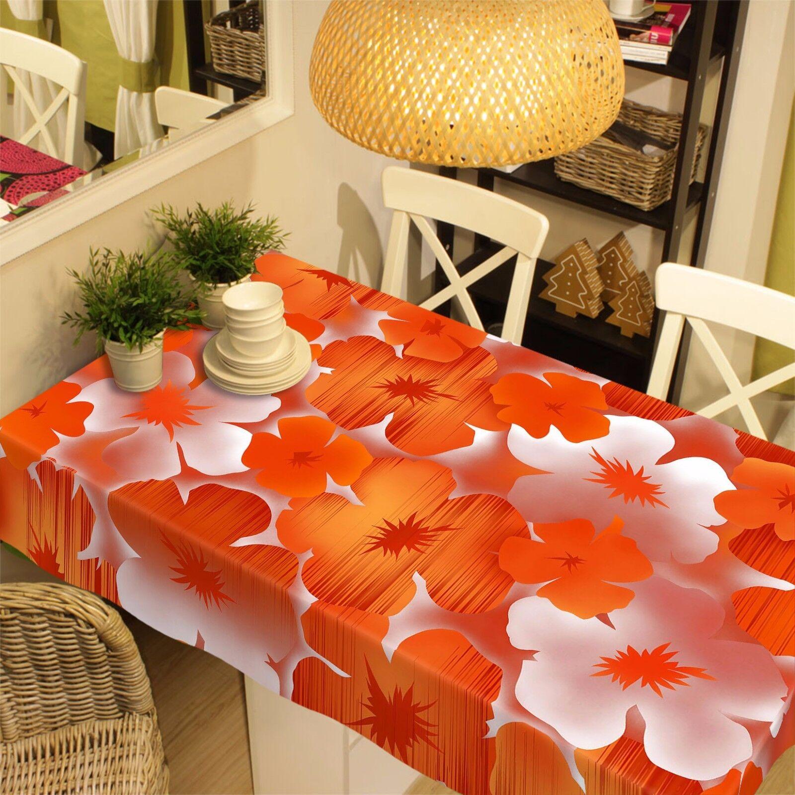 Fleurs 3D 712 Nappe Table Cover Cloth Fête D'Anniversaire événement AJ papier peint UK