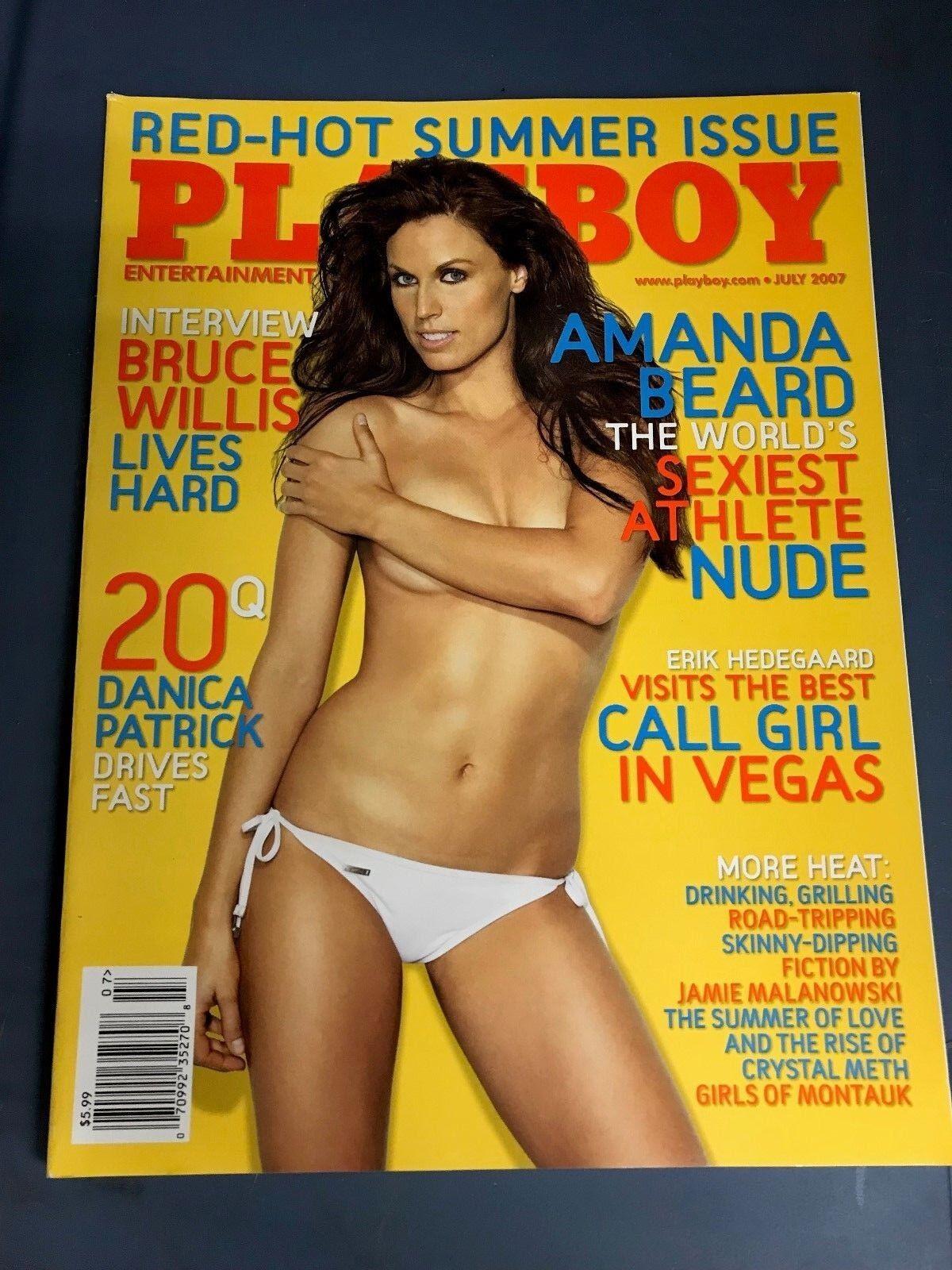 Amanda Beard Playboy Pics playboy magazine july 2007 amanda beard | ebay