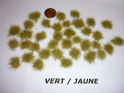 Efficiente Lot De 50 Touffes D'herbes - Z - Vert Jaune.