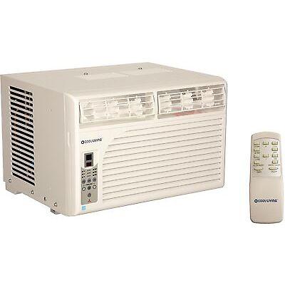 Cool Living 12,000 BTU Energy Star Window Mount Room Air Conditioner AC Unit