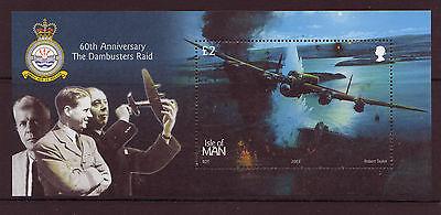 UnabhäNgig Isle Of Man 2003 Jubiläum Von Dambusters Raid Ms Nicht Gefaßt Postfrisch Mnh Briefmarken Großbritannien