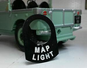 Land Rover Serie Caravana 1 2 2a 2b Interruptor De Metal Placa