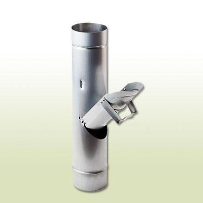 Heimwerker Aluminium Regenwasserklappe Dn 87 Ohne Sieb HüBsch Und Bunt