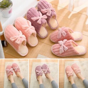 Women-Ladies-Winter-Warm-Slippers-Soft-Non-Slip-Indoor-House-Flat-Casual-Shoes