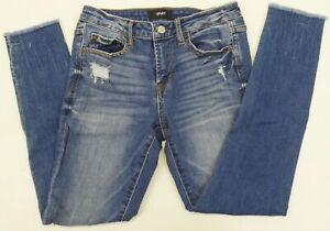 47f08b01d5f641 Image is loading Vervet-Jeans-x-Flying-Monkey-VT132-Distressed-Fray-