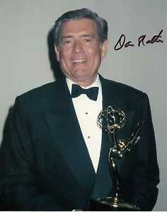 Image Is Loading Dan Rather Cbs News Anchor 60 Minutes Signed