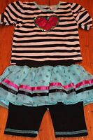 Little Lass Infant Girl 6 9 Month 3 Pc Pageant Sportswear Outfit Cute $36
