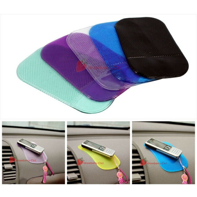 Colorful Car Dashboard Anti Slip Mat Pad f. iPhone iPod Samsung Nokia HTC LG GPS