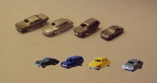 P/&D Marsh N Gauge N Scale G07 Four cars castings require painting