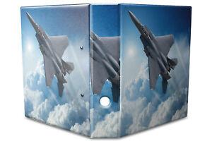 Archivador A4 Carpeta 2 anillas 60mm impreso Aviones de combate
