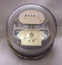 Vintage General Electric Watthour Meter Model Type 1 30 S