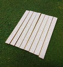 HO Scale Laser Cut  Cobblestone Sidewalks - 240 Scale Feet