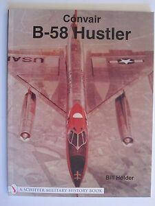 Convair-B-58-Hustler-over-180-color-amp-b-w-photos