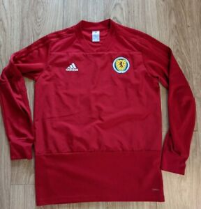 Scotland Adidas Official Training Top 2018/2019 Season Red Large