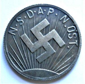 WW2-GERMAN-COMMEMORATIVE-COLLECTORS-REICHSMARK-COIN-039-36-039-37