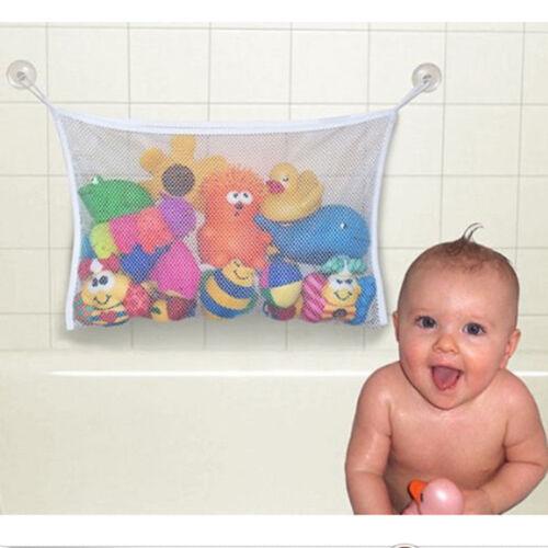 Kid Baby Bath Shower Toy Tidy Storage Bag Bathroom Organiser Net Pouch UK #HA2