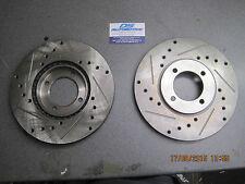 Mk1 Mk2 Escort Rs2000 Capri 2.8i Mexico 247mmX 21mm Vented Brake Discs