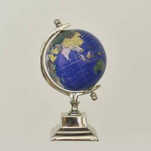 5 inch Pastel Country On Axis Metal Globe World Globe Office Table Globe