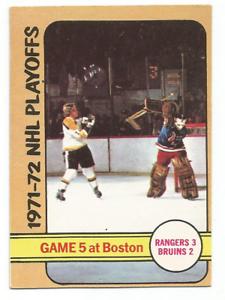 1972-73-O-Pee-Chee-54-Playoff-Game-5-Boston-Bruins-New-York-Rangers