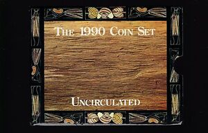 1990-UNC-Coin-SET-Australia-uncirculated