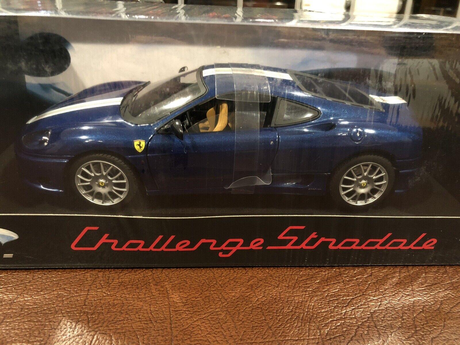 compra en línea hoy 1 18 Hot Wheels Elite Ferrari 360 Challenge Stradale Stradale Stradale azul,  Raro   nuevo   Sellado   tienda en linea
