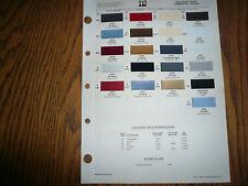 1988 Dodge Truck Commercial Ditzler PPG Color Chip Paint Sample -