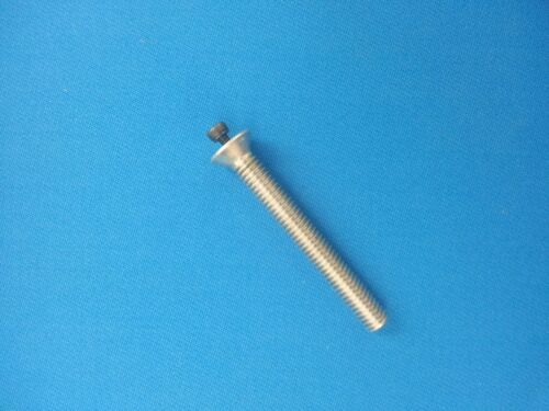 "3"" Aluminum .5 oz Pool Cue Weight Bolt - drilled tapped w/ 8/32 allen head screw"