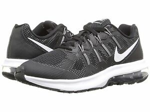 NIKE AIR MAX DYNASTY 2GS BLACK//GRAY//SILVER YOUTH RUNNING